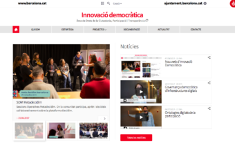 New web for Democratic Innovation