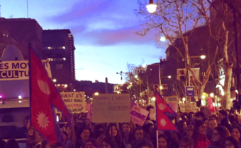 News article: A review of the #8M feminist strike in Spain
