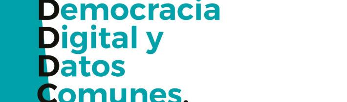 Democracia Digital y Datos Comunes: un proceso para pensar las políticas de datos del futuro