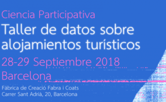 Participatory Science: Workshop of data on tourist accommodation