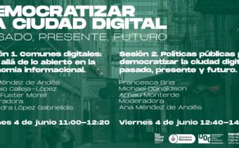 Event: Democratize the Digital City: past, present and future